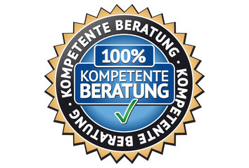 Kompetente Beratung Siegel / Button