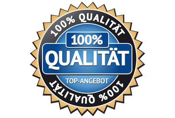 Qualität Siegel / Button