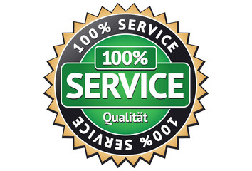 Service Siegel / Button