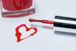 Nail Polish Heart 1