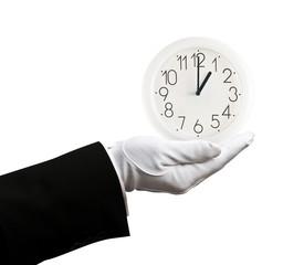 Holding clock