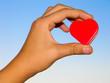 Herz in Mädchenhand