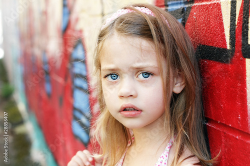 Worried Child