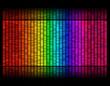 pattern of digital sound equalize