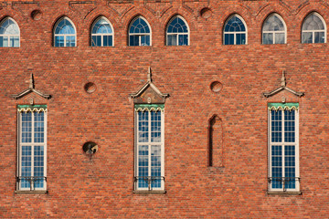 Detail of Historical Building - Stockholm cityhall