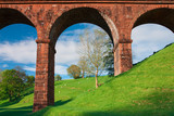 Lune viaduct in Yorkshire Dales National Park poster