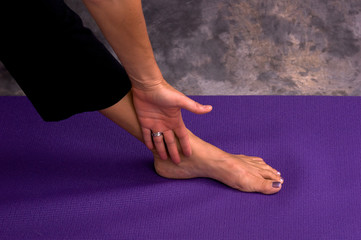 yogic hand and foot