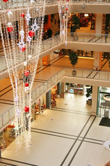 New Year In Shopping Center