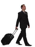 Business traveller poster