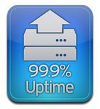 Host Server Uptime Icon poster