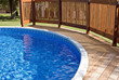 Pool Deck with Railing - 28873225