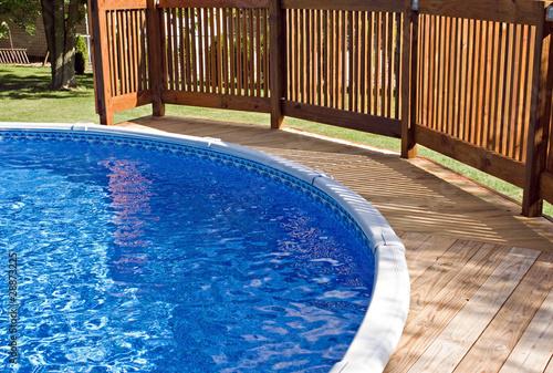 Pool Deck z poręczą