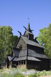 Scandinavian Church poster