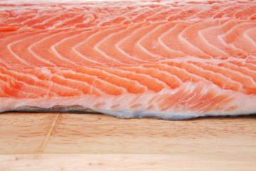 piece of salmon fillet