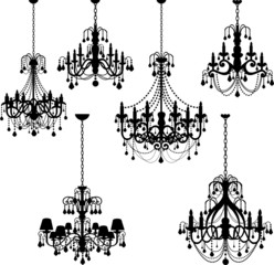 Chic Silhouette Chandeliers