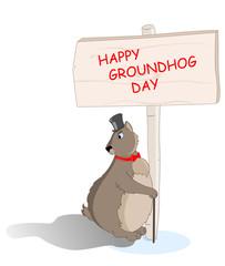 groundhog saw his shadow