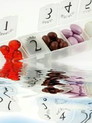 pilulier hebdomadaire