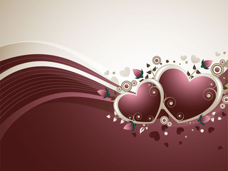 Rose Valentine's Background