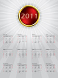 Sphere calendar design for 2011