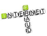 Internet Fraud Crossword poster