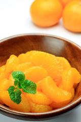 canned food of the mandarin orange