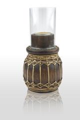 wood candleholder