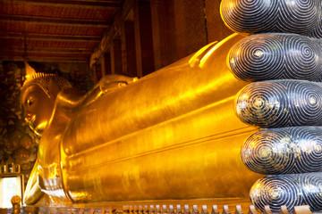 Reclining Buddha at Wat Pho, Thailand