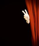 Magic stage curtain