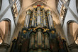 Church organ in Breda, Netherlands