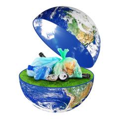 riciclo rifiuti globale