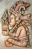 Jum Kaash replica is a Maya god of life and  plenty poster