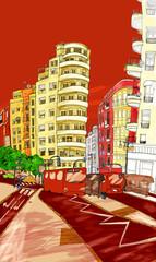 ciudad mediterranea, valencia, españa