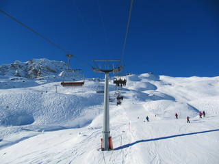 Ski resort Switzerland Arosa