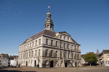 Edificio tipico de la ciudad de Maastricht