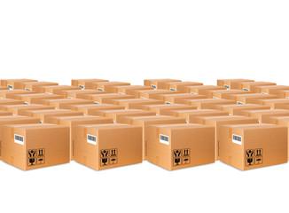 Sfondo scatole