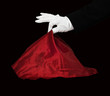 Magician red cape