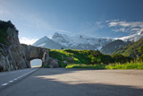 Road tunnel and mountains - Fine Art prints
