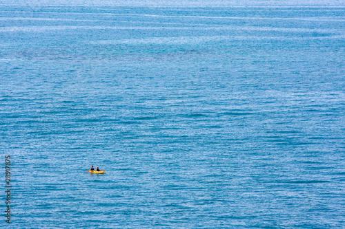 Ocean and Kayak