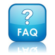 """""""FAQ"""" Web Button (questions answers help assistance online faqs)"""