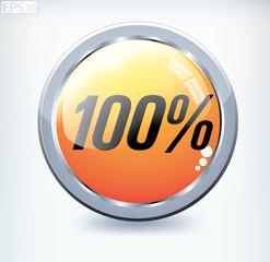100 percent button