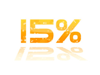 Soldes - Réduction 15%