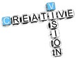 Creative Vision Crossword