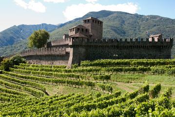 castello di Montebello a Bellinzona