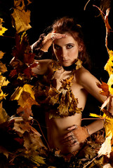 Lady autumn.