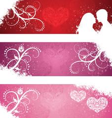 Valentine's day banner.