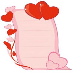 Письмо влюбленных