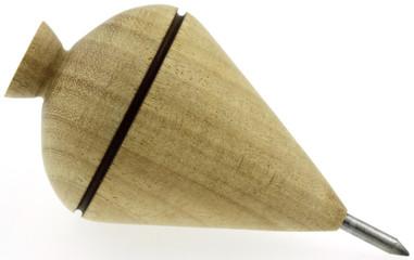 toupie traditionnelle en bois et pointe métal