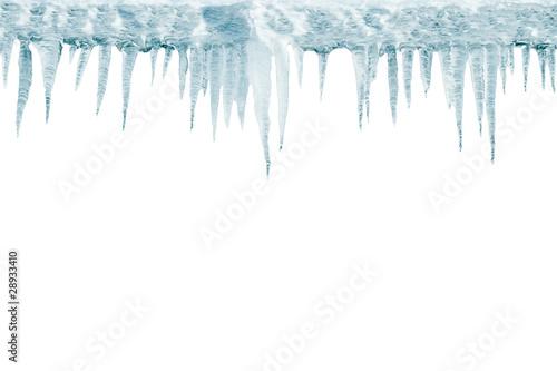 Stalattiti di ghiaccio © CDSTOCK