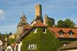 Leinwandbild Motiv Burg Eppstein im Taunus