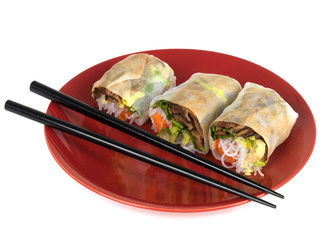 Vietnamese Vegetable Rolls